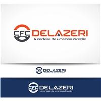 CFC DELAZERI, Logo e Cartao de Visita, Educação & Cursos