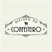 Mercado do Confeiteiro, Logo e Cartao de Visita, Alimentos & Bebidas