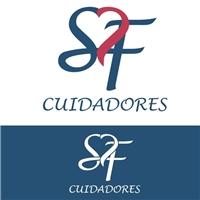SF CUIDADORES, Logo, Limpeza & Serviço para o lar