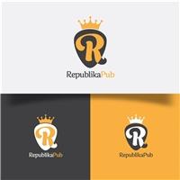Republika Pub, Logo e Cartao de Visita, Artes, Música & Entretenimento