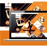 Dance centro de dança , Cartão de visita, Artes, Música & Entretenimento