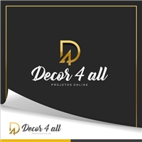 Decor 4 All - Projetos online, Logo, Decoração & Mobília