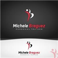 Michele Breguez - Personal Trainer, Logo, Saúde & Nutrição