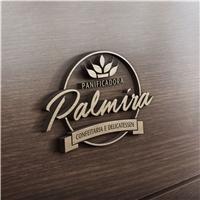 Palmira - Panificadora , Logo e Cartao de Visita, Alimentos & Bebidas