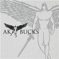 AK BUCKS, Logo e Cartao de Visita, Roupas, Jóias & acessórios