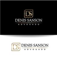 DENIS SANSON ADVOGADO, Logo, Advocacia e Direito