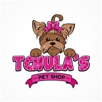 TCHULAS PET SHOP, Logo, Animais