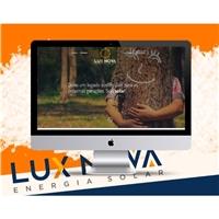 Lux Nova, Logo em 3D, Tecnologia & Ciencias