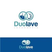 Duolave, Logo e Cartao de Visita, Limpeza & Serviço para o lar
