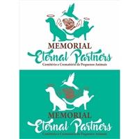MEMORIAL ETERNAL PARTNERS - Cemitério e Crematório de pequenos animais, Logo, Animais