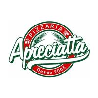 Pizzaria Apreciatta, Logo, Alimentos & Bebidas