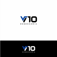 V10 Engenharia, Logo, Construção & Engenharia