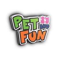 Pet and Fun, Logo e Cartao de Visita, Animais