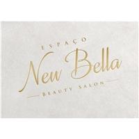 Espaço New Bella - Beauty Salon, Logo e Cartao de Visita, Beleza