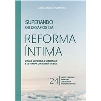 CAPA DE LIVRO: Superando Os Desafios Da Reforma Íntima, Layout para Website, Religião & Espiritualidade