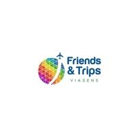 Friends & Trips, Logo e Cartao de Visita, Viagens & Lazer