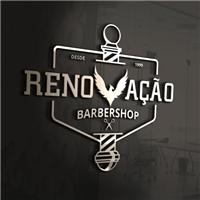 Renovação Barbershop, Logo e Cartao de Visita, Beleza