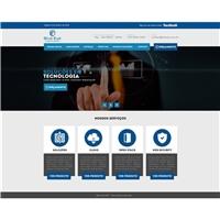 Blue Eye - Soluções em Tecnologia, Logo em 3D, Tecnologia & Ciencias