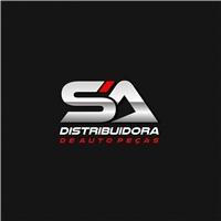 sa distribuidora de auto peças, Logo e Cartao de Visita, Automotivo