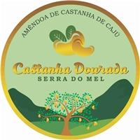 """Castanha de Cajú (nome da empresa """"Castanha Dourada"""")da Serra do Mel , Logo, Alimentos & Bebidas"""