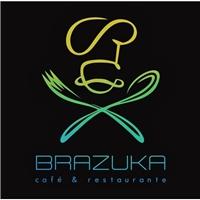 BRAZUKA RESTAURANTE, Logo, Alimentos & Bebidas
