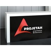 Projetah Arquitetura e Interiores, Logo e Cartao de Visita, Arquitetura