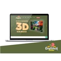 Grafstock Festas, Logo em 3D, Viagens & Lazer