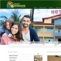 HOTEL RENACER PALACE, Logo em 3D, Viagens & Lazer