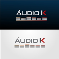 ÁUDIO K, Logo e Cartao de Visita, Outros