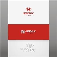 Nerdflix Store, Logo e Cartao de Visita, Roupas, Jóias & acessórios