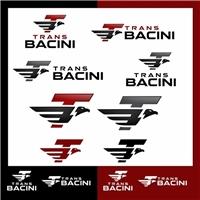 Trans Bacini, Logo e Cartao de Visita, Logística, Entrega & Armazenamento