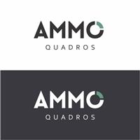 Ammo Quadros, Logo e Cartao de Visita, Decoração & Mobília