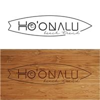 Ho'onalu- subtitulo Beach Trend (marca própria de roupas), Logo e Cartao de Visita, Roupas, Jóias & acessórios