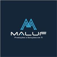 Maluf Produções e Soluções em TI, Logo, Computador & Internet