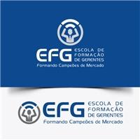 """EFG - Escola de Formação de Gerentes """"Formando Campeões de Mercado"""", Logo, Educação & Cursos"""