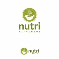 NUTRI ALIMENTOS, Logo e Cartao de Visita, Alimentos & Bebidas