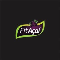 FIT AÇAI, Logo e Cartao de Visita, Alimentos & Bebidas
