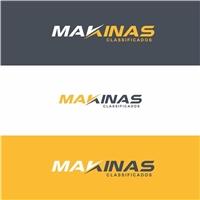 Makinas, Logo e Cartao de Visita, Construção & Engenharia