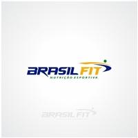 Brasil Fit Store (Obs. O store pode ser bem pequeno embaixo, sem dest), Logo e Cartao de Visita, Saúde & Nutrição