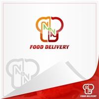 N&N FOOD DELIVERY, Logo, Alimentos & Bebidas