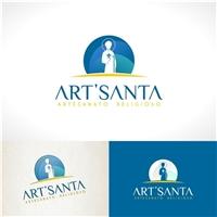 Art'Santa, Logo e Cartao de Visita, Religião & Espiritualidade