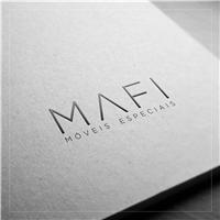 MAFI MÓVEIS ESPECIAIS, Logo e Cartao de Visita, Decoração & Mobília