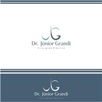 Dr. Júnior Grandi - Cirurgião Plástico, Logo e Cartao de Visita, Saúde & Nutrição