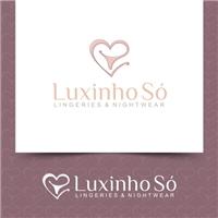 LUXINHO SÓ - Lingeries e nightwear., Logo, Roupas, Jóias & acessórios