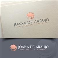 JOANA DE ARAUJO MD. GINECOLOGISTA E OBSTETRA , Logo e Cartao de Visita, Saúde & Nutrição