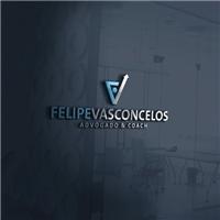 Felipe Vasconcelos - Advogado e Coach, Logo e Cartao de Visita, Educação & Cursos