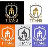 Titans, Logo e Cartao de Visita, Educação & Cursos