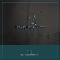 Dra Priscilla Miotto - Otorrinolaringologia, Logo e Cartao de Visita, Saúde & Nutrição