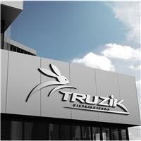 TRUZIK, Logo e Cartao de Visita, Construção & Engenharia