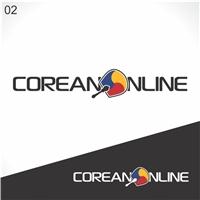Coreano Online, Logo e Cartao de Visita, Educação & Cursos